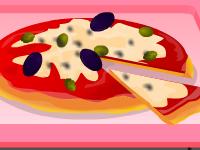 لعبة طبخ البيتزا الصغيرة