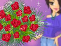 لعبة ديكور تنسيق الورود الصناعية