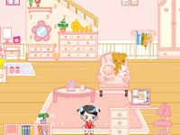 لعبة ديكور ترتيب غرفة كيوتي الجميلة