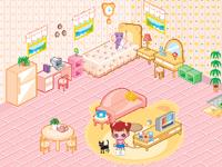 لعبه ديكور ترتيب غرفة ليلي الصغيرة