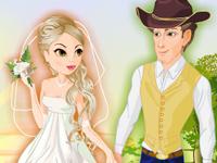لعبة تلبيس الزفاف الجديدة