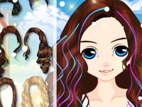 لعبة قص شعر البنت الرقيقة