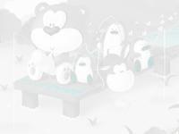 لعبة تلوين الدب الازرق