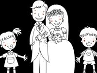 لعبة تلوين العائلة