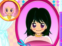 لعبة قص شعر ميمي