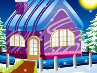لعبة ديكور بيت الشتاء