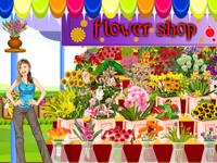 لعبة ديكور محل الزهور