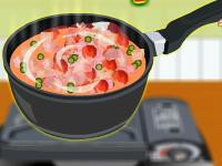 لعبة طبخ خضار ولحم اللزيز