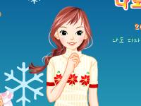 لعبة تلبيس ملابس الشتاء الممتعة