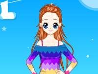 لعبة تلبيس فتاة المحيط