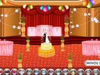 لعبة ديكور قاعة الزواج