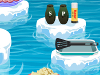 لعبة طبخ البطريق في القطب الشمالي
