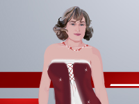 لعبة تلبيس الفنانة بيبي ميري