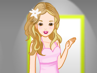 لعبة تلبيس بنات جميلات