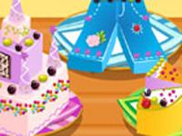 لعبة طبخ كعكة العيد وتلوينها