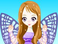 العاب تلبيس لعبة تلبيس الفتاة الفراشة الجميلة