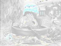 العاب تلوين لعبة تلوين الامير والاميرة في القارب