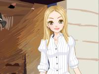 لعبة العاب تلبيس الشابة الجميلة والملابس الانيقة