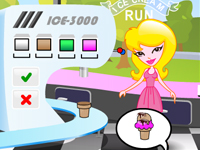لعبة تسوق وبيع المثلجات اللذيذة