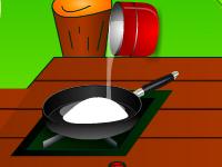لعبة طبخ كريم كراميل اللذيذ