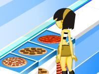 لعبة طبخ البيتزا السريعة