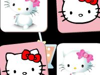 لعبة هيلو كاتي وبطاقات الصور
