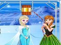 لعبة تحدي الثلج