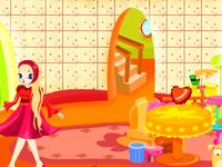 لعبة ديكور غرفة النوم الرائعة