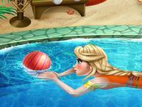 لعبة حوض السباحة