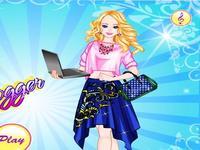 لعبة الفتاة المدونة