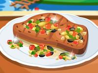 لعبة طبخ الخبز بالعسل