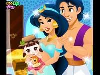 لعبة ياسمين والطفل الاول