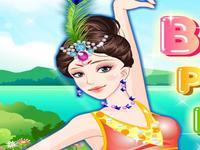 لعبة تلبيس راقصة البالية