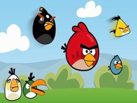 لعبة الطيور الغاضبة نسخة الشتاء