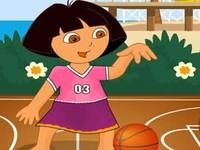 لعبة دورا وكرة السلة