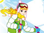 لعبة ملابس التزلج على الجليد