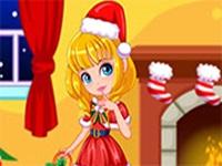 لعبة ملابس الكريسماس