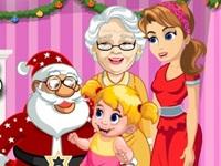 لعبة عائلة بابا نويل