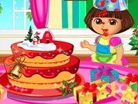 لعبة دورا والكعكة