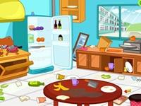 لعبة تنظيف المنزل