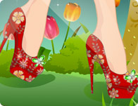 لعبة فاشون احذية الصيف