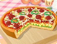 لعبة البيتزا الشهية