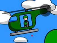 لعبة اكشن طائرة الهليكوبتر القوية