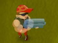 لعبة اكشن حرب المسدسات القوية