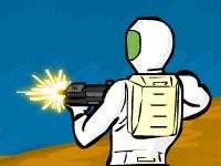 لعبة اكشن حرب الوحوش الفضائية