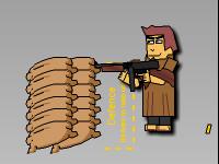 لعبة حرب الكاوبوي الخطيرة
