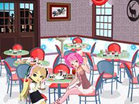 لعبة ديكور المطعم الجميل