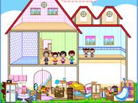 لعبة ديكور ترتيب منزل ليلي الجميلة