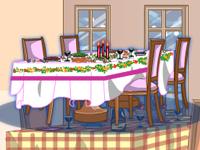 لعبة ديكور غرفة الأكل