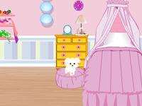 لعبة ديكور ترتيب غرفة الأميرة الصغيرة